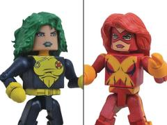 Marvel Minimates Jean Grey & Polaris Two-Pack