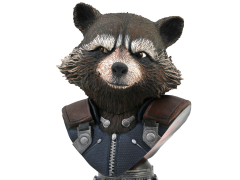 Avengers: Endgame Legends in 3D Rocket Raccoon 1/2 Scale Limited Edition Bust