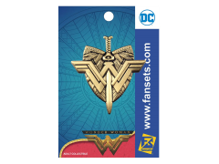 Wonder Woman Movie Logo Crest with Sword Pin