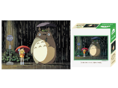 My Neighbor Totoro 108-203 Bus Stop Rain Petite 108-Piece Puzzle