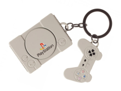 Playstation Console & Controller Keychain