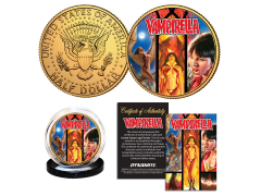 Vampirella Collectible Gold Plated Coin (Tri-image)