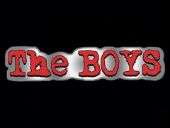 The Boys Logo Pin