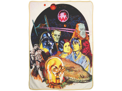 "Star Wars  ""Retro Collage"" Micro Raschel Throw Blanket"