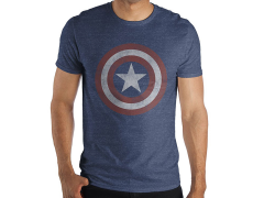 Marvel Captain America Logo T-Shirt