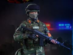 Chinese People's Armed Police Force 1/6 Scale Figure