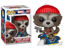 Pop! Marvel: Holiday - Rocket Raccoon