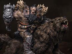 Warcraft Blackhand Riding Wolf 1/9 Scale Statue
