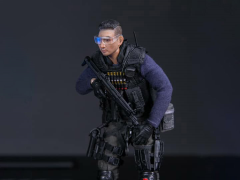 Hong Kong Special Duties Unit Pocket Elite Series Sam Sir 1/12 Scale Figure