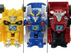Transformers Go! G24 Samurai Team BeCool Set
