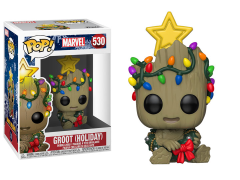 Pop! Marvel: Holiday - Groot With Star