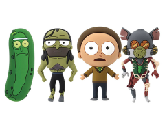 Rick and Morty SDCC 2018 Exclusive Collectors Keyring Set