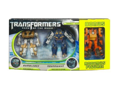 Cyberverse Bumblebee Vs. Soundwave Exclusive With Bonus Rodimus