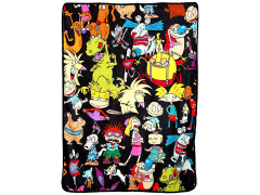 "Nickelodeon Rewind ""Go Splat"" Micro Raschel Throw Blanket"
