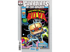 Guardians of the Galaxy #7 The Man Called Nova (Mike Martin Funko Variant Cover) Comic Book