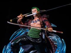 One Piece Log Collection Roronoa Zoro Statue