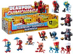 Marvel Deadpool Chimichanga Surprise with Mystery Filling (Order 1) Box of 12 Figures