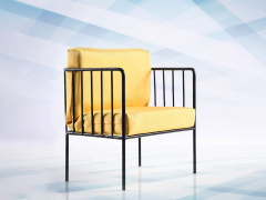 Armchair (Yellow) 1/6 Scale Accessory
