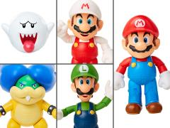 "World of Nintendo 4"" Wave 18 Set of 5 Figures"