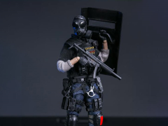 Hong Kong Special Duties Unit Pocket Elite Series Fai Sir 1/12 Scale Figure