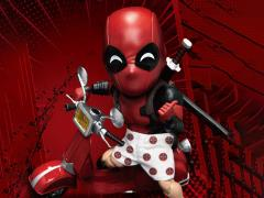 Marvel Egg Attack Action EAA-065DX Deadpool With Scooter PX Previews Exclusive