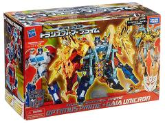 Transformers Prime Arms Micron Year of the Snake Optimus Prime & Gaia Unicron Exclusive Two-Pack