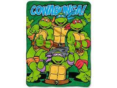 """TMNT """"Cowabunga Dudes"""" Micro Raschel Throw Blanket"""