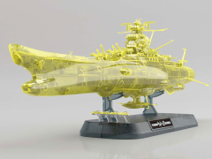 Space Battleship Yamato 2202 Space Battleship Yamato (Final Battle Ver.) High Dimension Clear 1/1000 Scale Model Kit