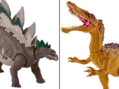Jurassic World Mega Dual Attack Stegosaurus & Suchomimus Set