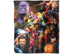 "Avengers: Infinity War ""Team Infinity"" HD Silk Touch Throw Blanket"