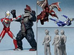Ultraman ChoDo Ultraman Tiga -The One Who Inherits the Light- Exclusive Box of 7 Figures