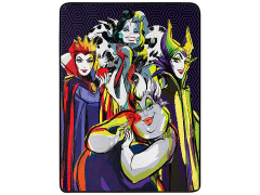 "Disney Villains ""Villainous Group"" Micro Raschel Throw Blanket"