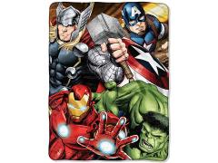 "Marvel's The Avengers ""Four Avengers"" Micro Raschel Throw Blanket"
