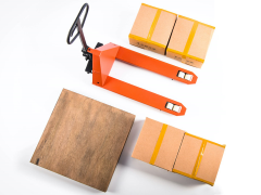Forklift (Pallet Jack) Five Toys 1/6 Scale Accessory Set (Orange)