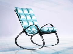 Rocking Chair (Baby Blue) 1/6 Scale Accessory