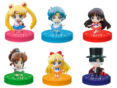 Sailor Moon Petit Chara! Puchitto Oshioki Yo! (2020 Ver.) Limited Edition Box of 6 Figures With Drawstring Bag