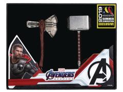 Avengers: Endgame Mjolnir & Stormbreaker Exclusive Keychain Set