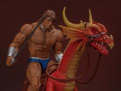 Golden Axe Ax Battler & Red Dragon 1/12 Scale Figure Set