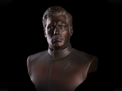 Star Trek Captain Christopher Pike 1/2 Scale Limited Edition Bust