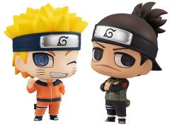 Naruto Chimi-Mega Buddy! Umino Iruka & Uzumaki Naruto Two-Pack