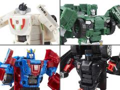 Transformers Combiner Wars Deluxe Wave 6 Set of 4 Figures