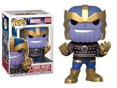 Pop! Marvel: Holiday - Thanos