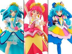 PreCure Cutie Figure Premium 1 Exclusive Set of 3 Figures