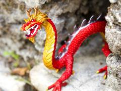 Dragon Collection Horned Chinese Dragon