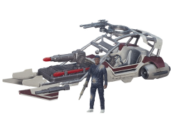 "Star Wars 3.75"" Desert Landspeeder with Finn (Jakku) (The Force Awakens)"
