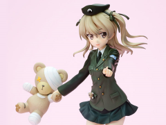 Girls und Panzer DreamTech Alice Shimada (Panzer Jacket Ver.) 1/8 Scale Figure
