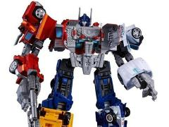 Transformers Unite Warriors UW-05 Convoy Grand Prime Exclusive (With Collector Coin)