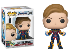 Pop! Marvel: Avengers: Endgame - Captain Marvel (New Hair)