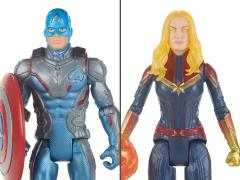 Avengers: Endgame Captain America and Captain Marvel 2-pack