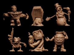 Run-A-Mucks Mini Figure Six-Pack